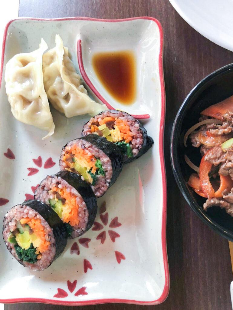 Kimbap - Lee's Negrin - cibo coreano