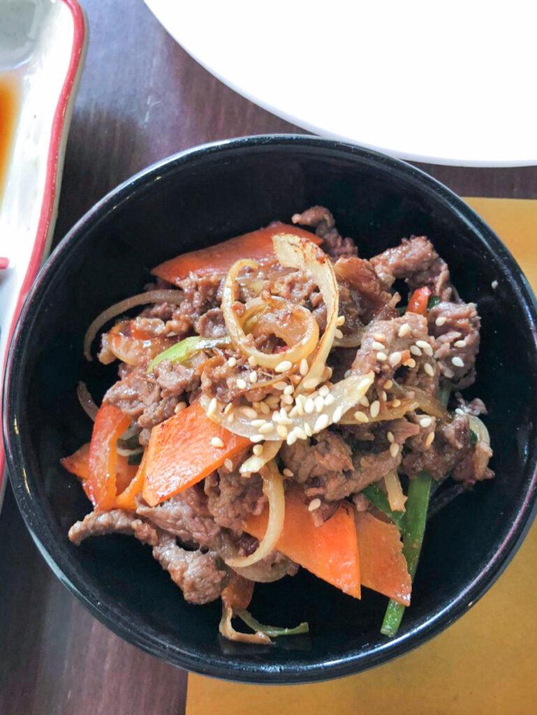 bulgoghi - lee's negrin - cibo coreano