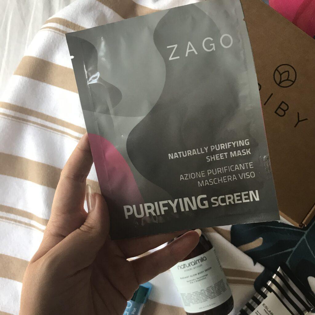 ZAGO Cosmetics - Puryfing Screen Maschera