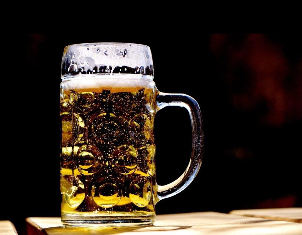 birra in cosmesi