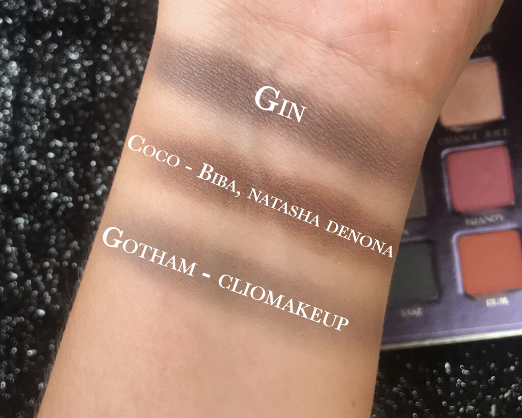swatch e comparazioni bartender spell , gin