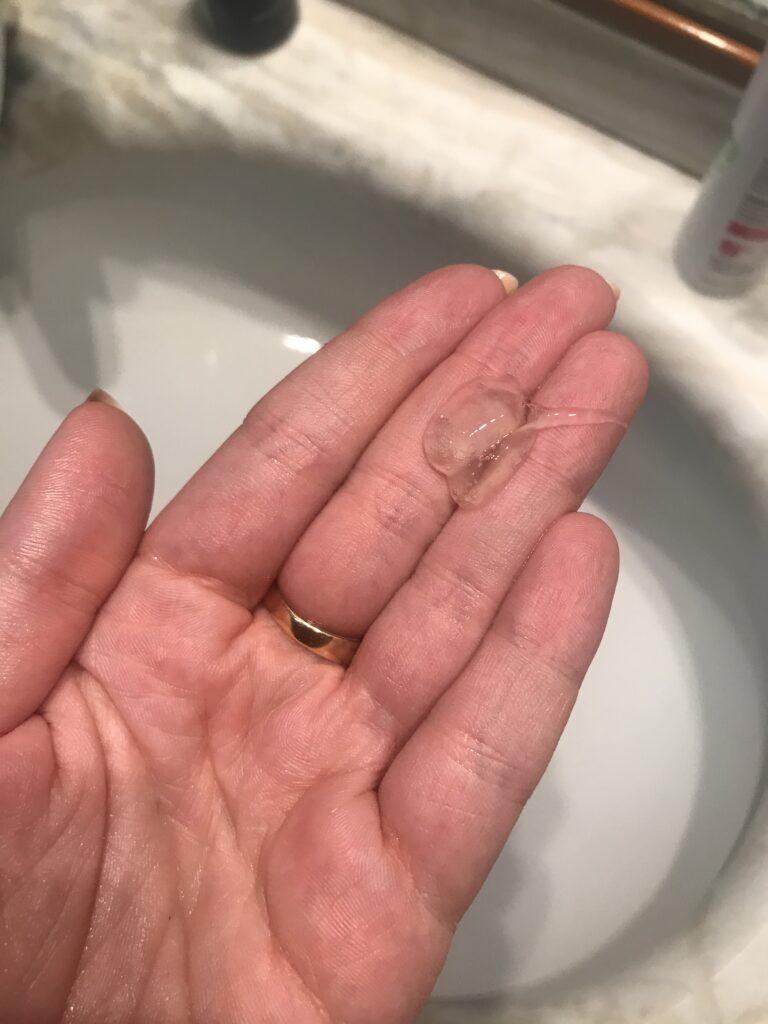 Texture Recensione detergente viso purificante Biofficina Toscana