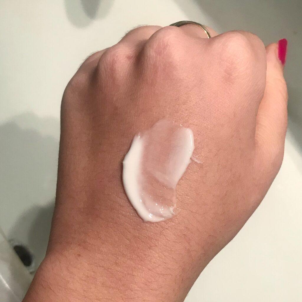 Texture Recensione crema viso purificante di Biofficina Toscana
